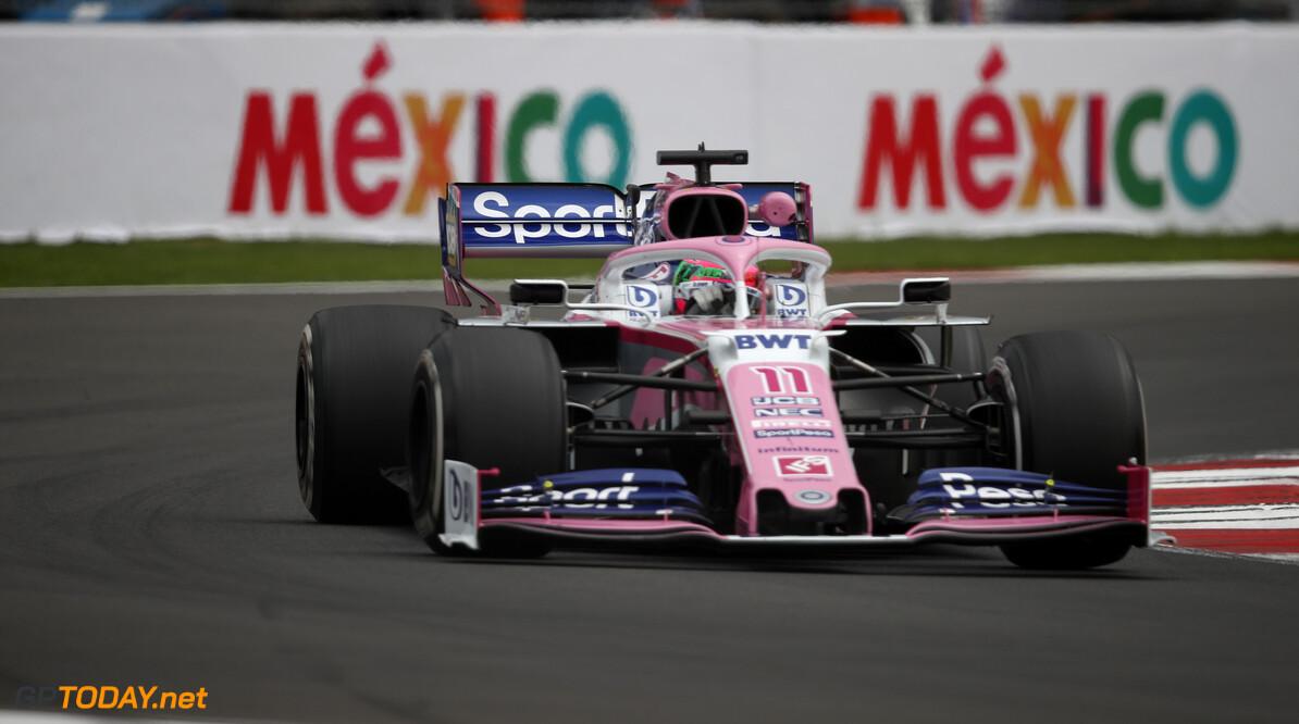 Sergio Perez, Racing Point RP19   Joe Portlock    FP2 practice GP19018b GP19018b_M F1 GP Mexico Mexican Autodromo-Hermanos-Rodriguez