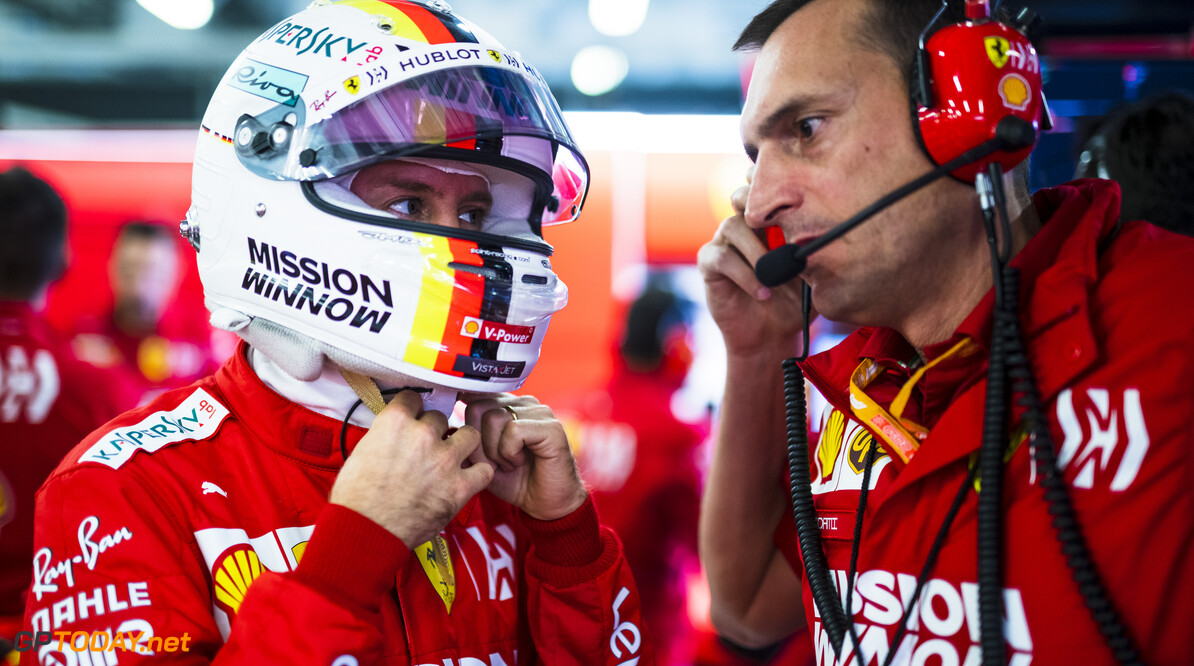 RUDY CAREZZEVOLI@CALLO ALBANESE    25/10/2019 F1/2019 GP MESSICO VENERDI VETTEL