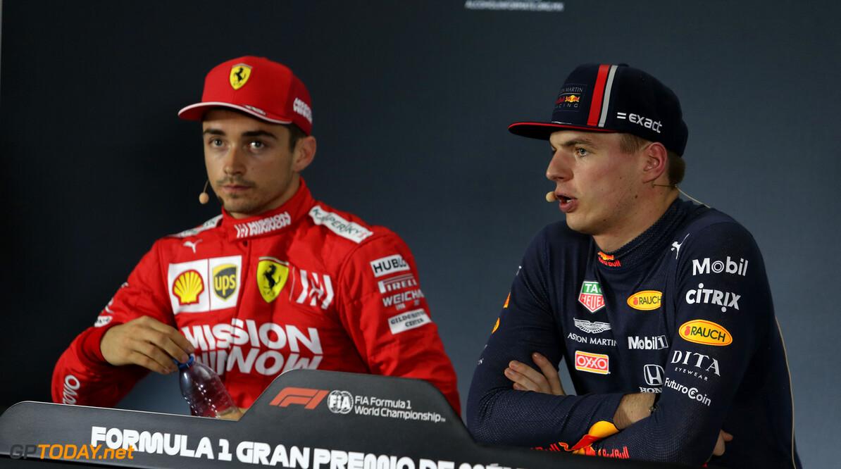 """Verstappen: """"Toekomstige strijd om wereldtitels gaat niet alleen tussen Leclerc en mij"""""""