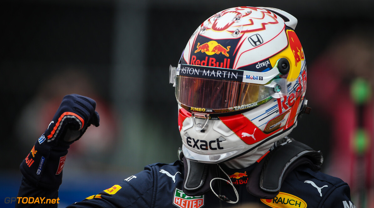 Formula One World Championship Max Verstappen (NLD), Red Bull Racing  26.10.2019. Formula 1 World Championship, Rd 18, Mexican Grand Prix, Mexico City, Mexico, Qualifying Day. - www.xpbimages.com, EMail: requests@xpbimages.com (C) Copyright: Charniaux / XPB Images Motor Racing - Formula One World Championship - Mexican Grand Prix - Qualifying Day - Mexico City, Mexico XPB Images Mexico City Mexico  Formel1 Formel F1 Formula 1 Formula1 GP Grand Prix October Mexico Mexico City Mexican Autodromo Hermanos Saturday 26 10 2019 Qualifying Portrait
