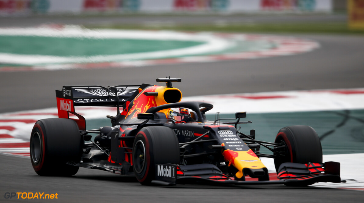 2019 Mexican GP MEXICO CITY - OCTOBER 26: Max Verstappen, Red Bull Racing RB15 during the 2019 Formula One Mexican Grand Prix at Autodromo Hermanos Rodriguez, on October 26, 2019 in Mexico City, Mexico. (Photo by Joe Portlock / LAT Images) 2019 Mexican GP Joe Portlock  Mexico  action ts-live