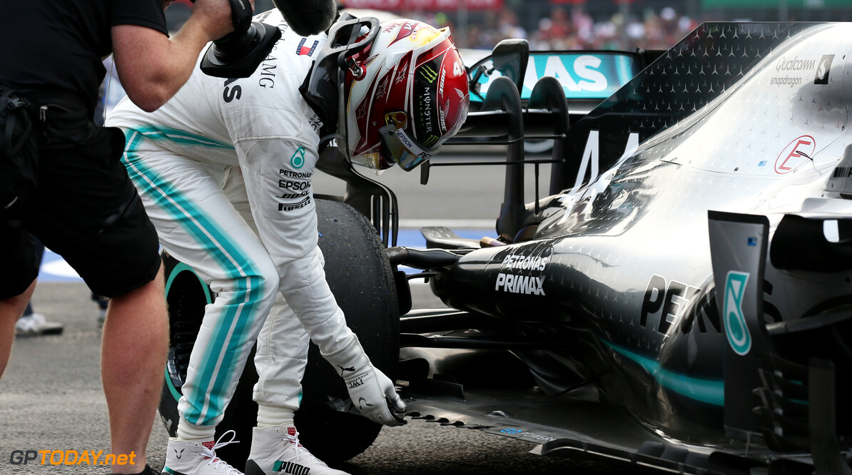 Hamilton: Race was 'a struggle' due to car damage