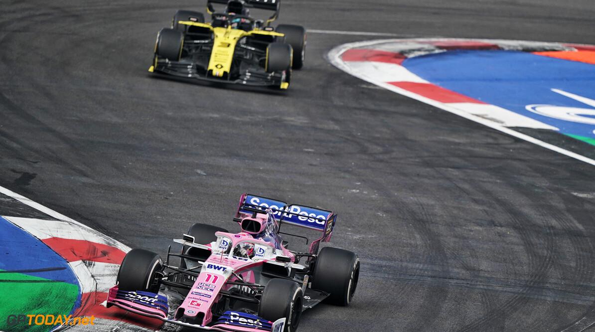 """Perez: """"Heb Ricciardo verteld dat hij Red Bull nodig had voor actie in bocht 1"""""""