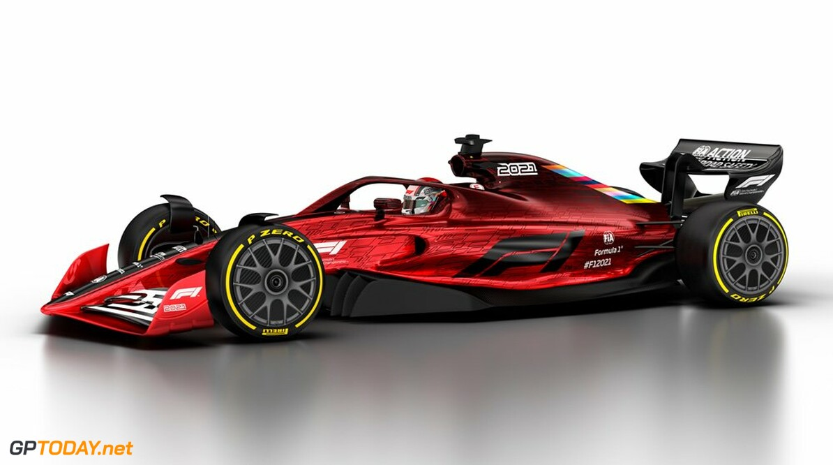 F1 presents new car design for 2021 season