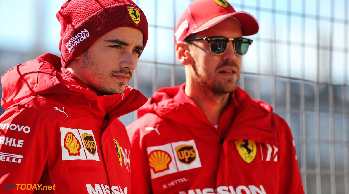 Leclerc: Vettel and I mature enough to deal with tension