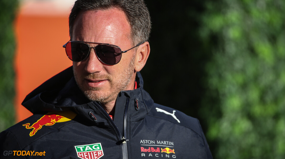 Formula One World Championship Christian Horner (GBR), Red Bull Racing Team Principal   01.11.2019. Formula 1 World Championship, Rd 19, United States Grand Prix, Austin, Texas, USA, Practice Day. - www.xpbimages.com, EMail: requests@xpbimages.com (C) Copyright: Charniaux / XPB Images Motor Racing - Formula One World Championship - United States Grand Prix - Practice Day - Austin, USA XPB Images Austin USA  Formel1 Formel F1 Formula 1 Formula1 GP Grand Prix one Circuit of The Americas COTA Texas USA United States of America Friday November 01 1 11 2019 Portrait