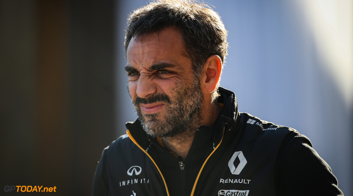 Formula One World Championship Cyril Abiteboul (FRA), Renault Sport F1 Managing Director  01.11.2019. Formula 1 World Championship, Rd 19, United States Grand Prix, Austin, Texas, USA, Practice Day. - www.xpbimages.com, EMail: requests@xpbimages.com (C) Copyright: Charniaux / XPB Images Motor Racing - Formula One World Championship - United States Grand Prix - Practice Day - Austin, USA XPB Images Austin USA  Formel1 Formel F1 Formula 1 Formula1 GP Grand Prix one Circuit of The Americas COTA Texas USA United States of America Friday November 01 1 11 2019 Portrait