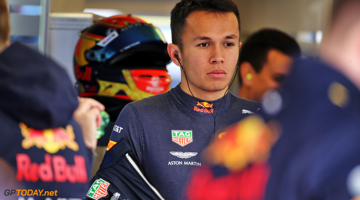 Red Bull sticks with Albon for 2020 season