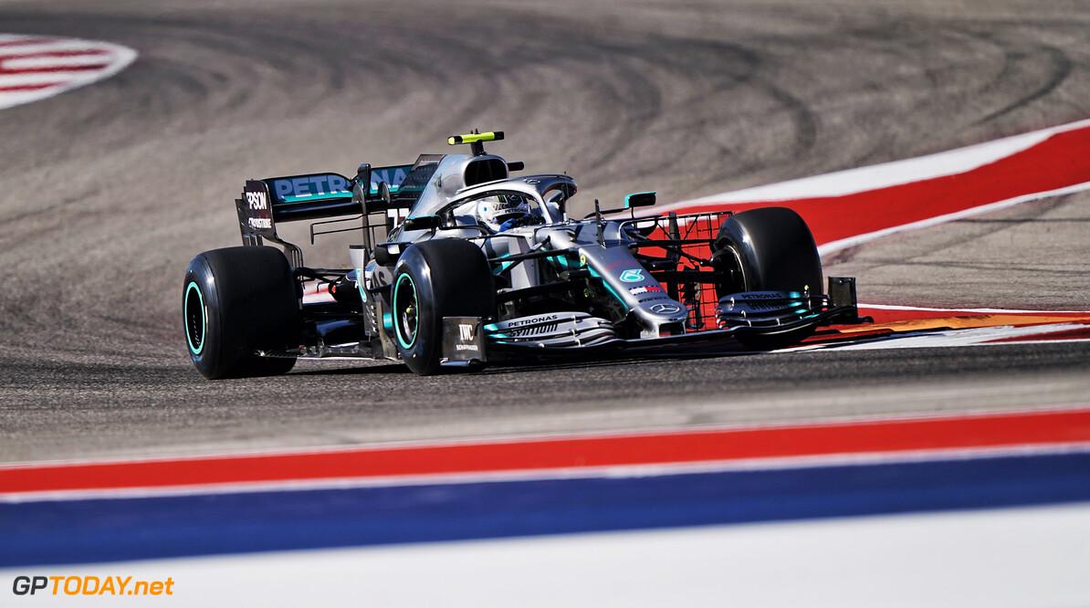 <b>Kwalificatie</b>: Bottas pakt pole in Verenigde Staten, Verstappen derde