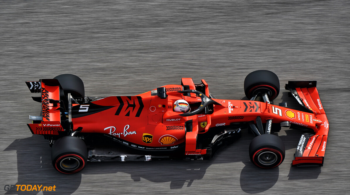 Vettel mystified by suspension failure