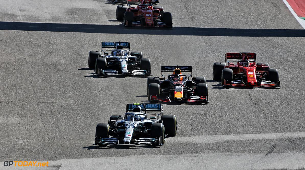 <b>GP Verenigde Staten</b>: Hamilton pakt wereldtitel, maar Bottas wint in Verenigde Staten