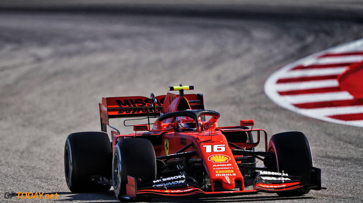 <b>Video:</b> Charles Leclerc pakt snelste ronde op Circuit of the Americas