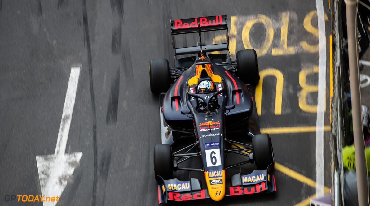 FIA Formula 3 CIRCUITO DA GUIA, MACAU - NOVEMBER 14: Juri VIPS (EST, Hitech Grand Prix) during the Macau GP at Circuito da Guia on November 14, 2019 in Circuito da Guia, Macau. (Photo by Joe Portlock) FIA Formula 3 Joe Portlock  Macau  FIA Formula 3
