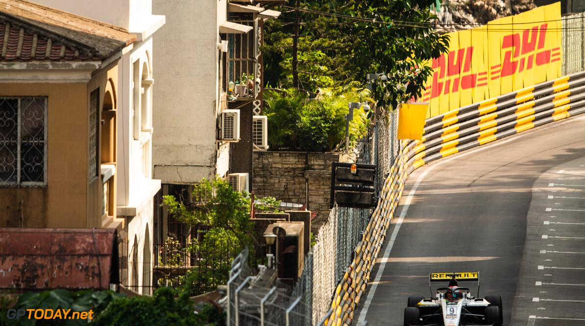FIA Formula 3 CIRCUITO DA GUIA, MACAU - NOVEMBER 14: Christian LUNDGAARD (DNK, ART Grand Prix) during the Macau GP at Circuito da Guia on November 14, 2019 in Circuito da Guia, Macau. (Photo by Joe Portlock) FIA Formula 3 Joe Portlock  Macau  FIA Formula 3