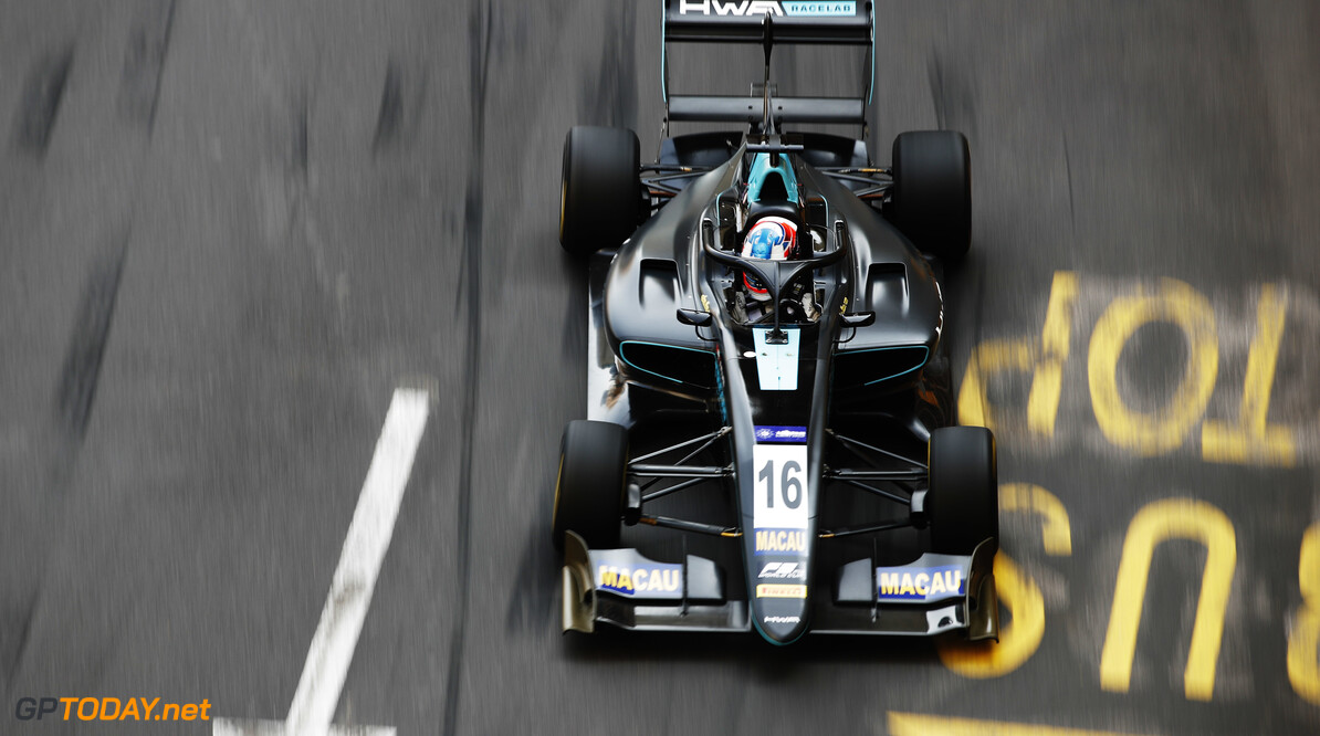 Hughes takes provisional pole in Macau for HWA
