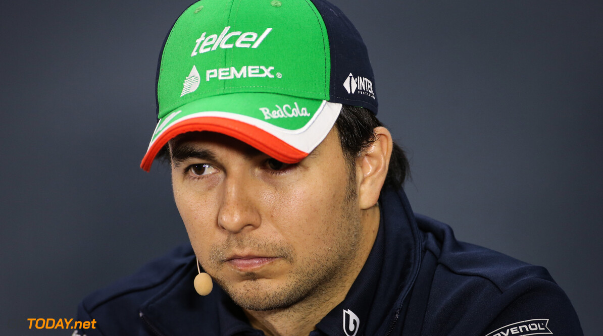 Formula One World Championship Sergio Perez (MEX), Racing Point  14.11.2019. Formula 1 World Championship, Rd 20, Brazilian Grand Prix, Sao Paulo, Brazil, Preparation Day. - www.xpbimages.com, EMail: requests@xpbimages.com (C) Copyright: Charniaux / XPB Images Motor Racing - Formula One World Championship - Brazilian Grand Prix - Preparation Day - Sao Paulo, Brazil XPB Images Sao Paulo Brazil  Formel1 Formel F1 Formula 1 Formula1 GP Grand Prix one Thursday November Portrait Brazil Brasil Brazilian Brasilian Sao Paulo Interlagos Autodromo 14 11 2019