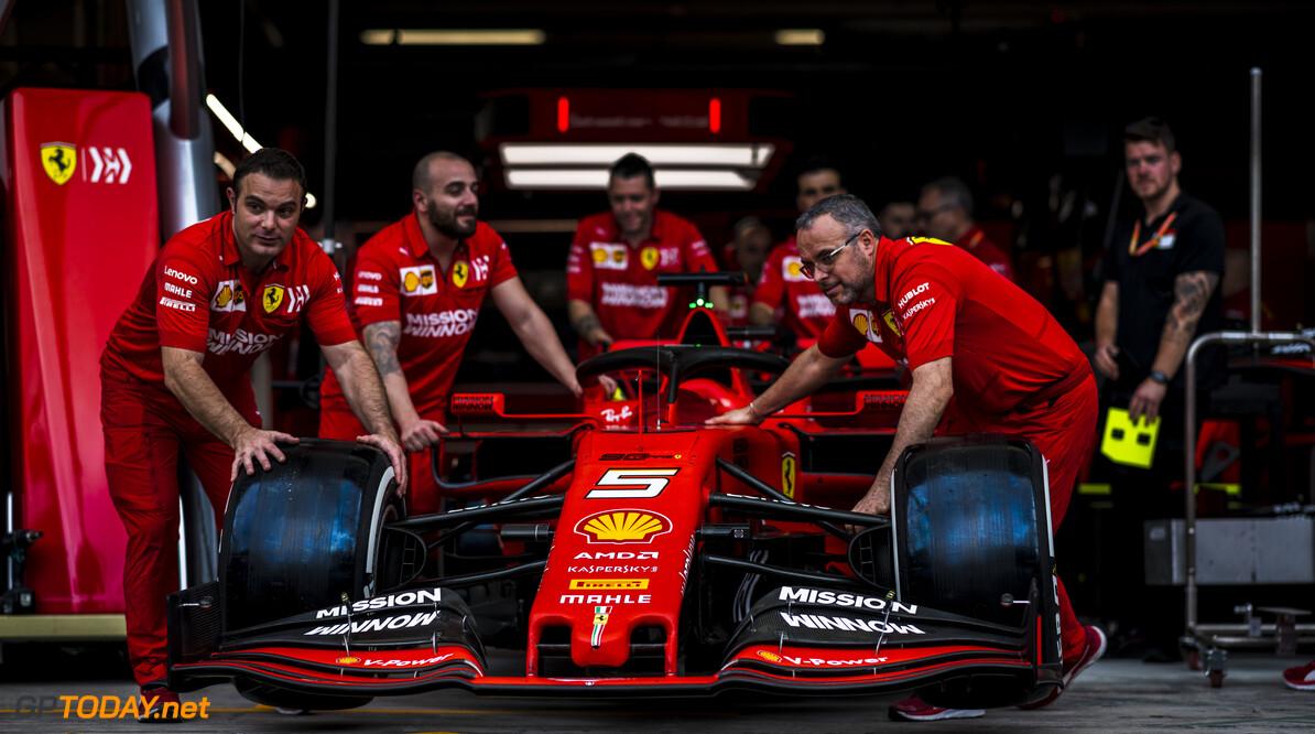 RUDY CAREZZEVOLI@CALLO ALBANESE    14/11/2019 BRASILE F1/2019 GIOVEDI GP VETTEL