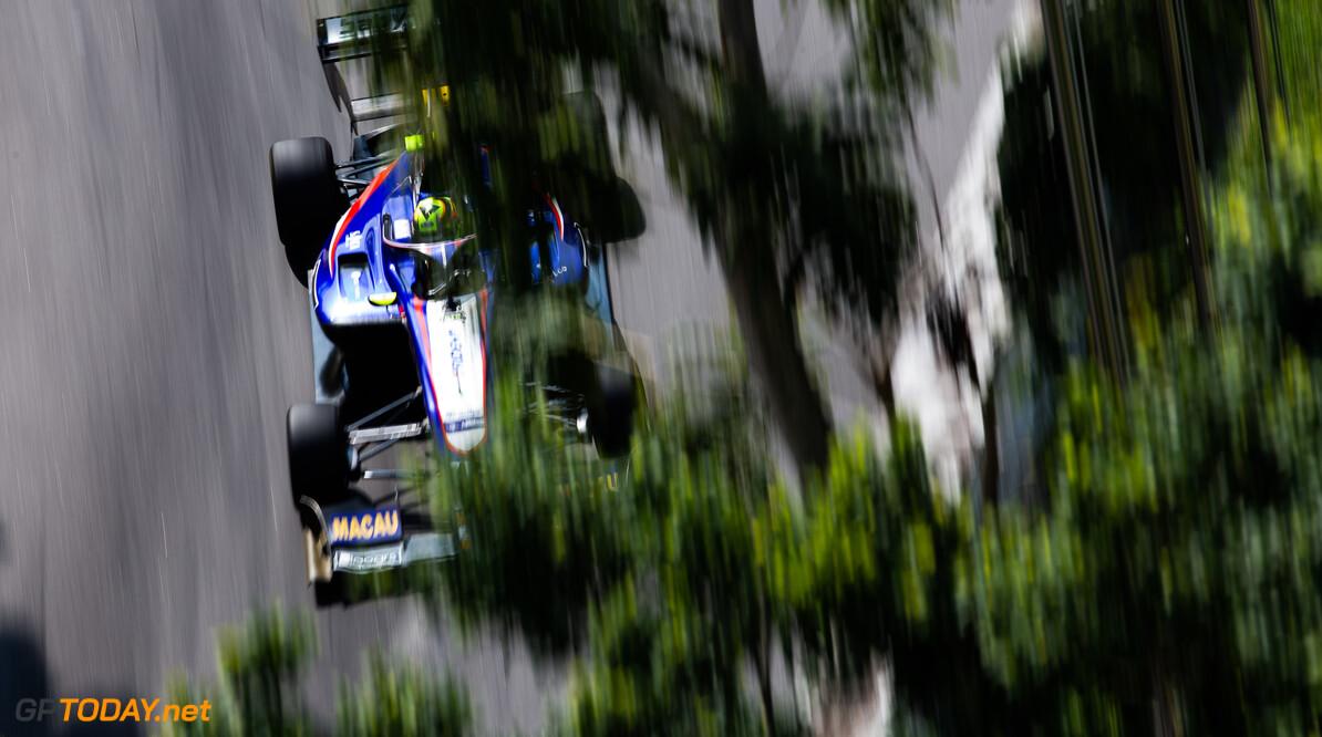 FIA Formula 3 CIRCUITO DA GUIA, MACAU - NOVEMBER 15: Alessio Lorandi (ITA, TRIDENT MOTORSPORT) during the Macau GP at Circuito da Guia on November 15, 2019 in Circuito da Guia, Macau. (Photo by Joe Portlock) FIA Formula 3 Joe Portlock  Macau  FIA Formula 3