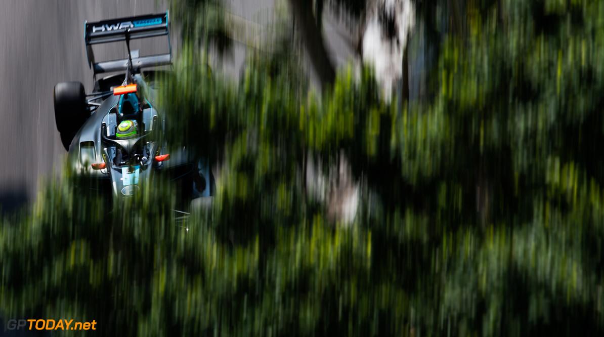 FIA Formula 3 CIRCUITO DA GUIA, MACAU - NOVEMBER 15: Sophia FLOERSCH (DEU, HWA RACELAB) during the Macau GP at Circuito da Guia on November 15, 2019 in Circuito da Guia, Macau. (Photo by Joe Portlock) FIA Formula 3 Joe Portlock  Macau  FIA Formula 3