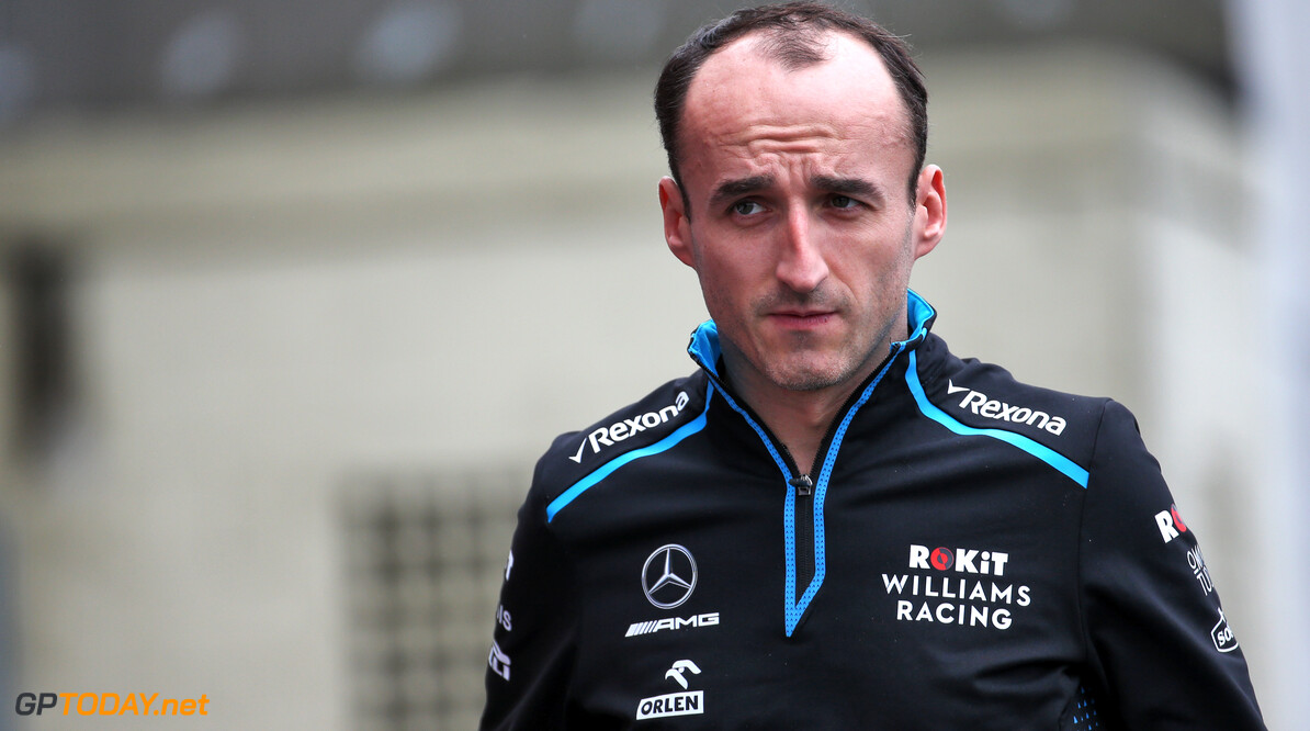 <b>Video:</b> Harde crash Kubica kort na begin tweede vrije training