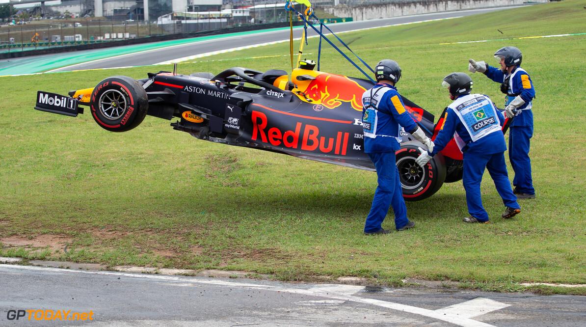 Horner brushes off Albon's FP1 crash