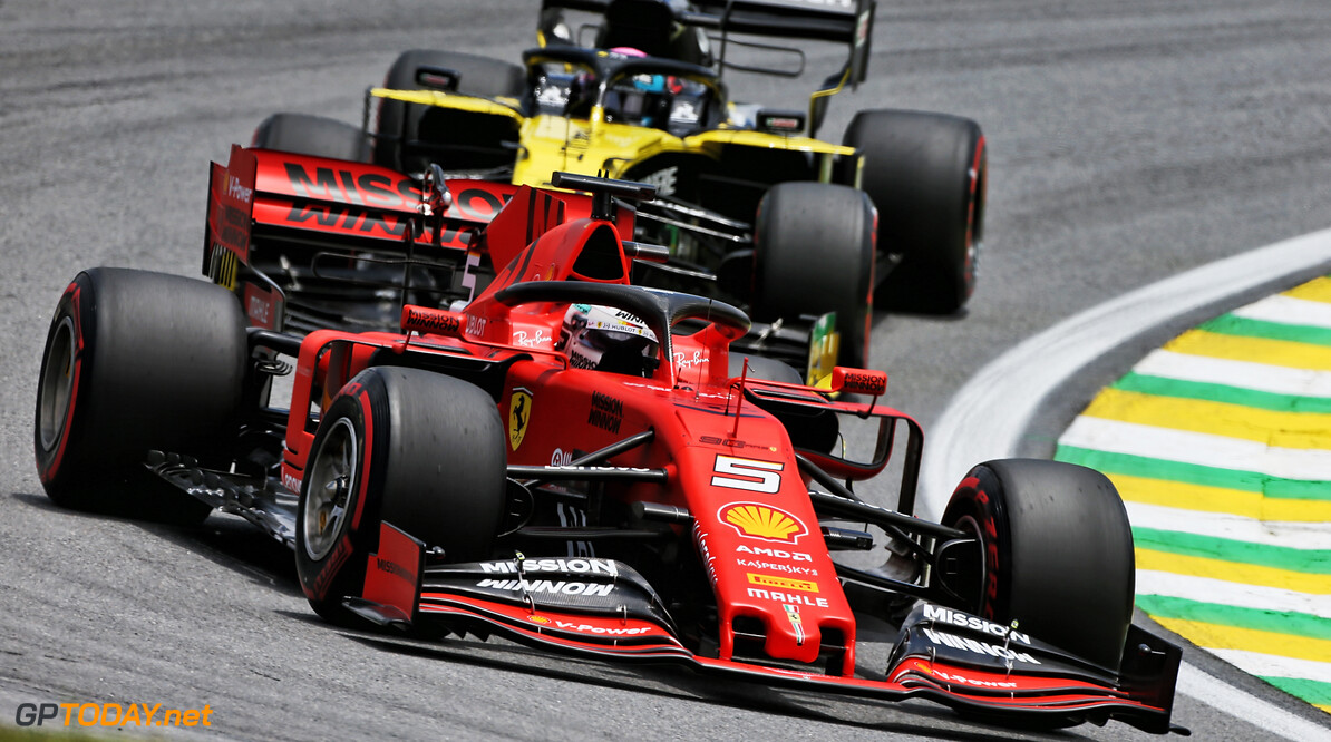 """David Coulthard: """"Sebastian Vettel in wiel-aan-wiel-gevechten niet de sterkste"""""""
