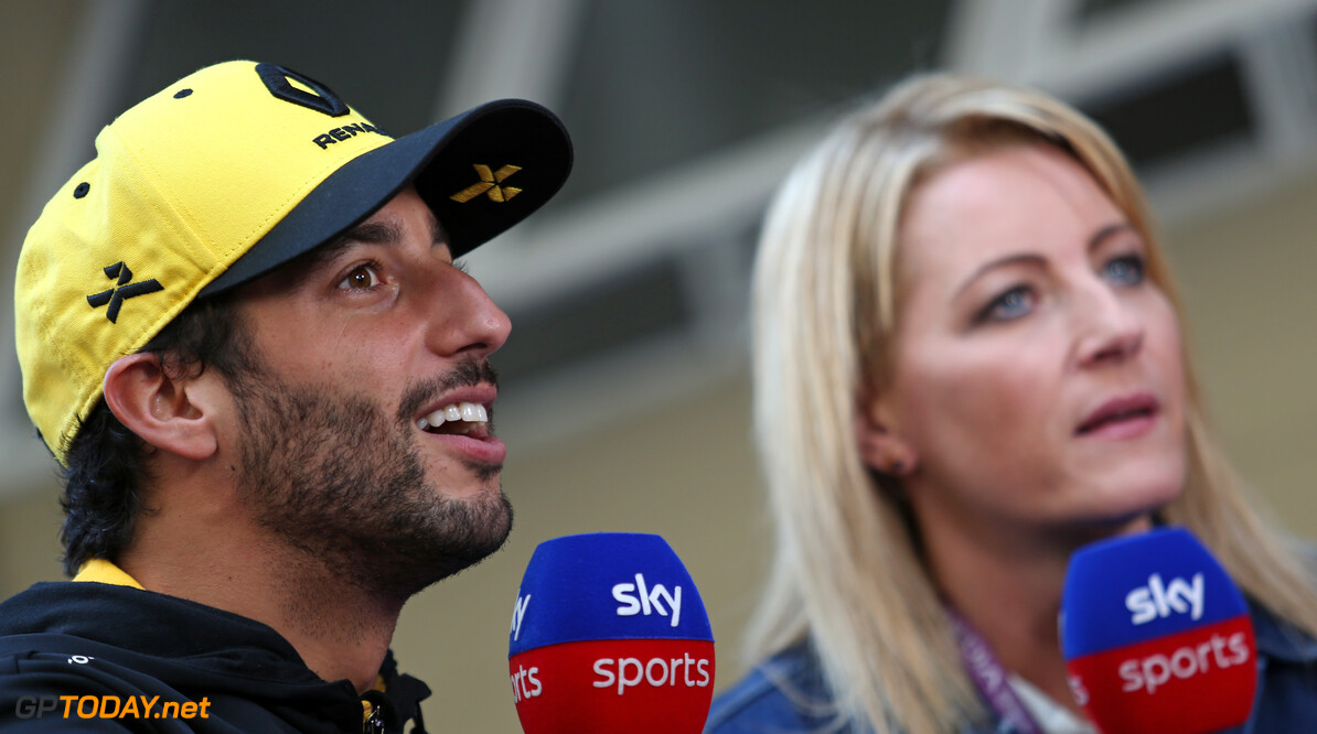 Formula One World Championship Daniel Ricciardo (AUS), Renault F1 Team  16.11.2019. Formula 1 World Championship, Rd 20, Brazilian Grand Prix, Sao Paulo, Brazil, Qualifying Day. - www.xpbimages.com, EMail: requests@xpbimages.com (C) Copyright: Charniaux / XPB Images Motor Racing - Formula One World Championship - Brazilian Grand Prix - Qualifying Day - Sao Paulo, Brazil XPB Images Sao Paulo Brazil  Formel1 Formel F1 Formula 1 Formula1 GP Grand Prix one November Brazil Brasil Brazilian Brasilian Sao Paulo Interlagos Autodromo Saturday 16 11 2019 Practice Portrait