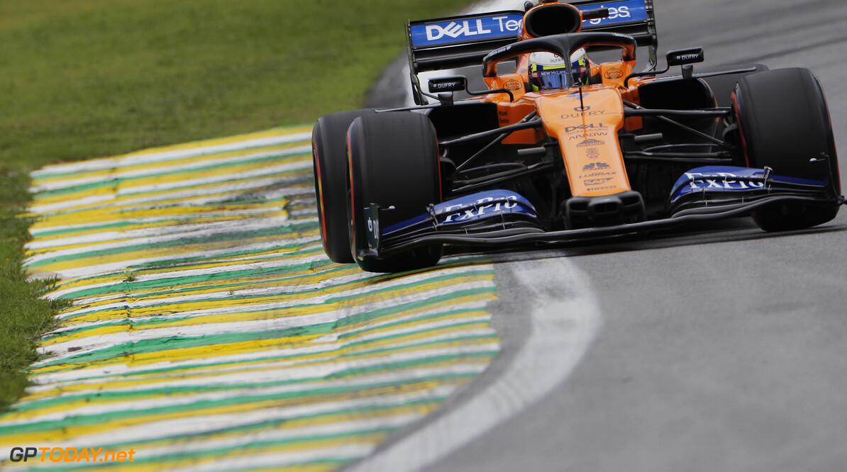Lando Norris, McLaren MCL34   Steven Tee    action front on