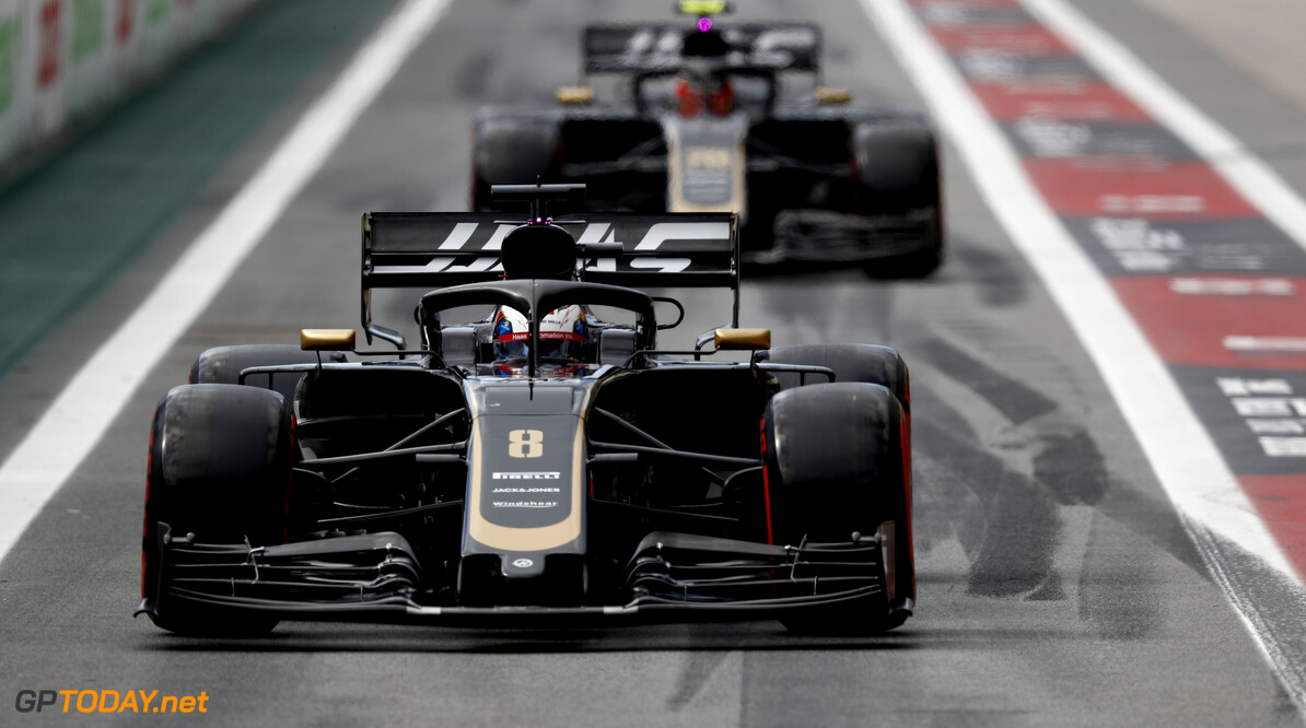 2019 Brazilian GP SAO PAULO, BRAZIL - NOVEMBER 16: Romain Grosjean, Haas VF-19 during the 2019 Formula One Brazilian Grand Prix at Aut?dromo Jos? Carlos Pace, on November 16, 2019 in Sao Paulo, Brazil. (Photo by Glenn Dunbar / LAT Images) 2019 Brazilian GP Glenn Dunbar  Brazil  qualifying action