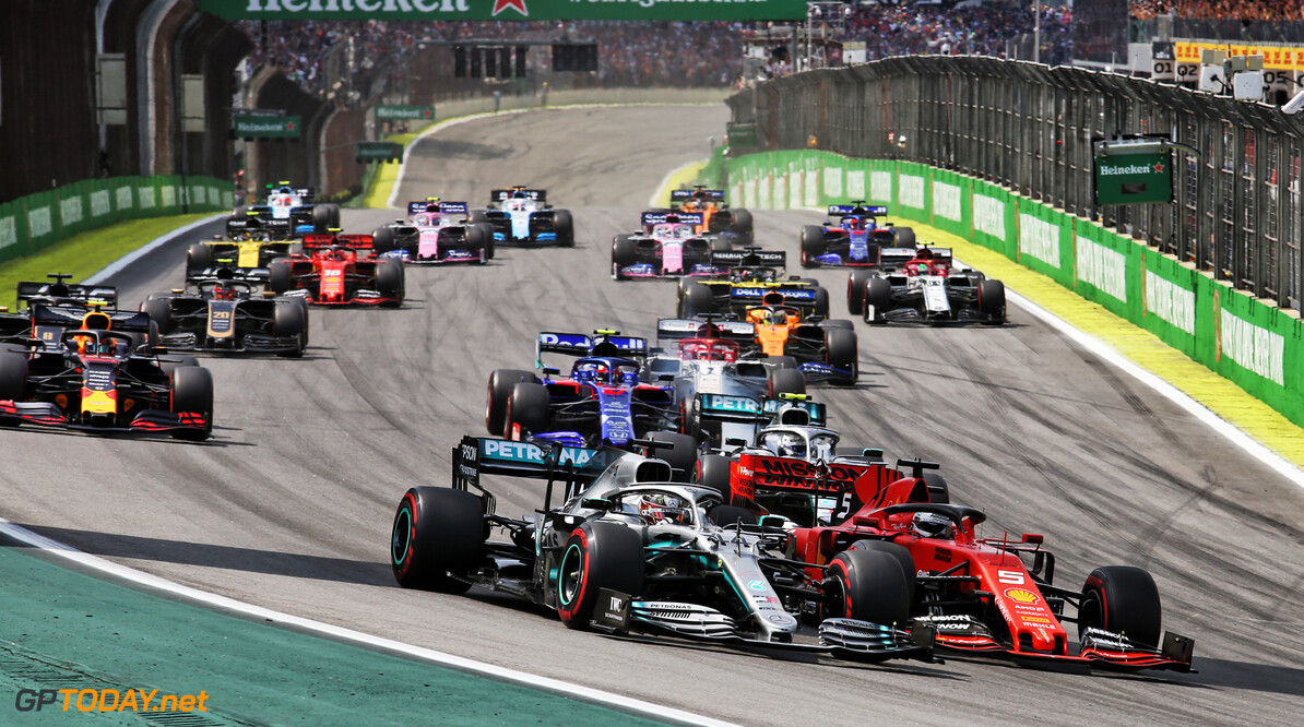 """Lewis Hamilton: """"Het was een geweldige race, sorry voor Albon"""""""