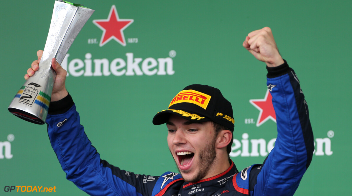 Gasly was confident of being competitive at Toro Rosso following mid-season demotion