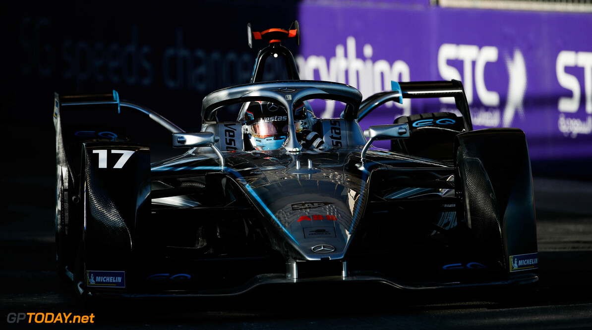 2020 Diriyah E-prix I RIYADH STREET CIRCUIT, SAUDI ARABIA - NOVEMBER 21: Nyck de Vries (NLD), Mercedes Benz EQ, EQ Silver Arrow 01 during the Diriyah E-prix I at Riyadh Street Circuit on November 21, 2019 in Riyadh Street Circuit, Saudi Arabia. (Photo by Joe Portlock / LAT Images) 2020 Diriyah E-prix I Joe Portlock  Saudi Arabia  action