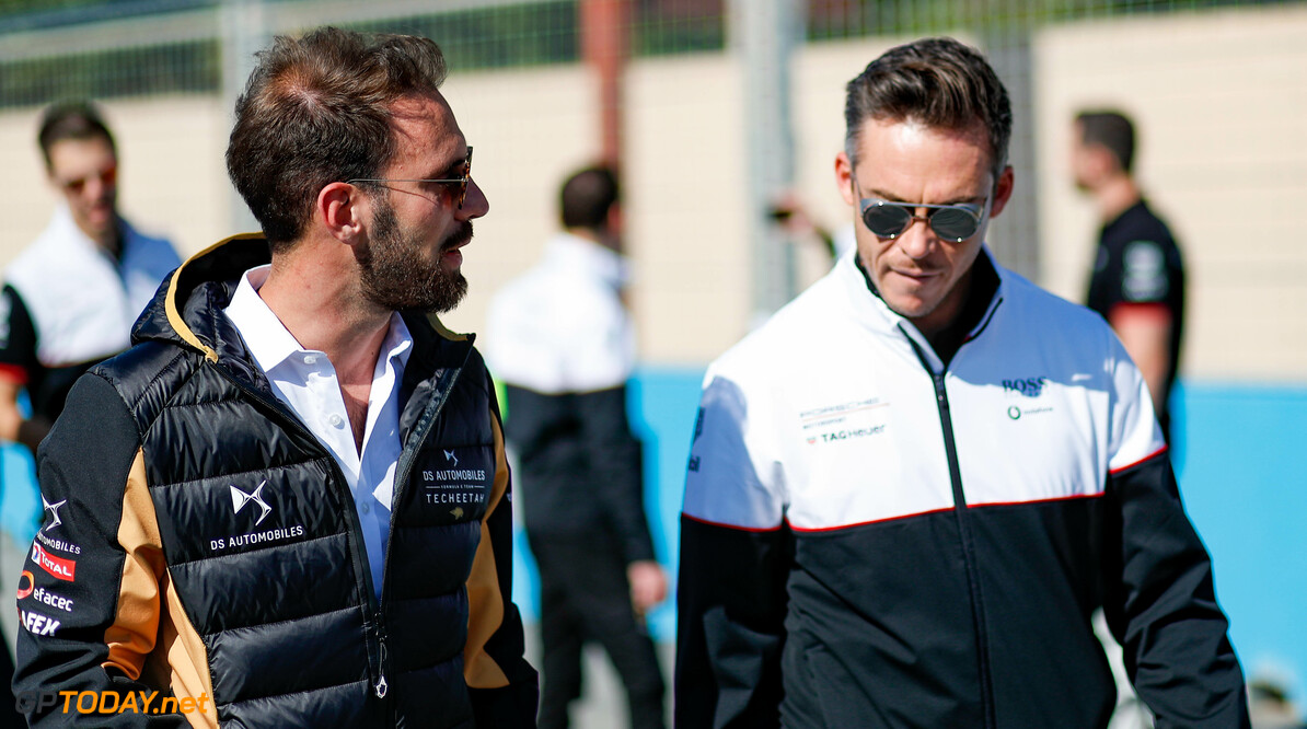 Jean-Eric Vergne (FRA), DS Techeetah and Andre Lotterer (DEU), Tag Heuer Porsche   Sam Bloxham    portrait trackwalk