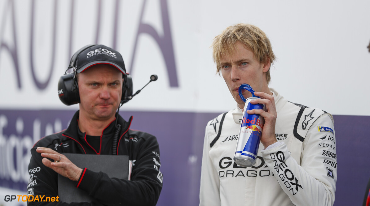 Brendon Hartley (NZL), GEOX Dragon   Zak Mauger    portrait