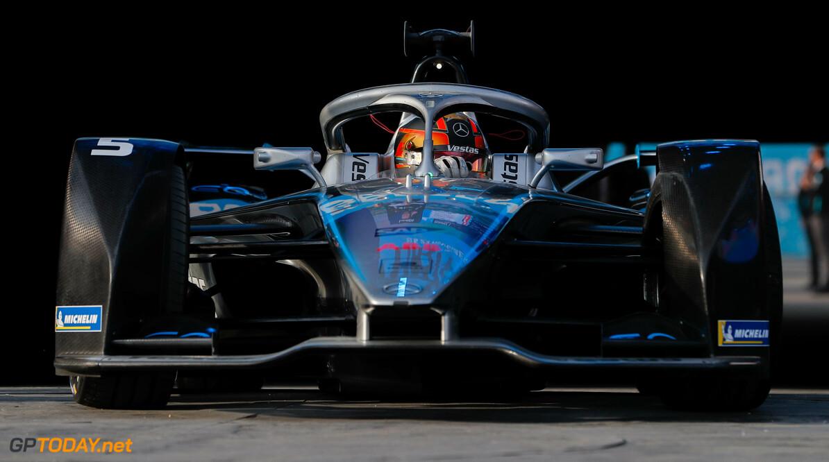 Stoffel Vandoorne (BEL), Mercedes Benz EQ Formula, EQ Silver Arrow 01, 3rd position  Zak Mauger    portrait podium