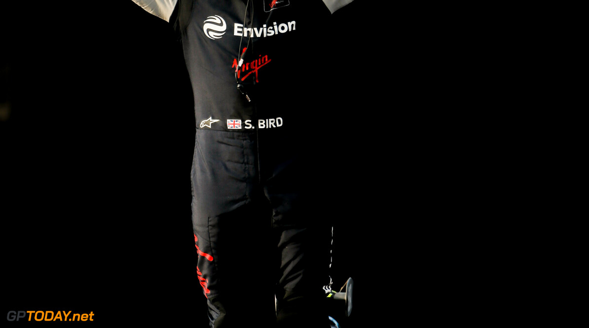 Sam Bird (GBR), Envision Virgin Racing, Audi e-tron FE06, 1st position  Andrew Ferraro    portrait podium