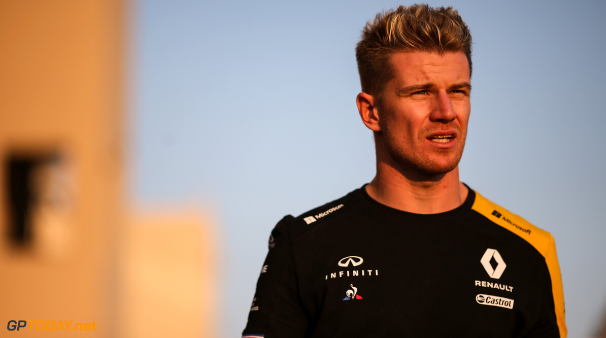 Formula One World Championship Nico Hulkenberg (GER), Renault Sport F1 Team  28.11.2019. Formula 1 World Championship, Rd 21, Abu Dhabi Grand Prix, Yas Marina Circuit, Abu Dhabi, Preparation Day. - www.xpbimages.com, EMail: requests@xpbimages.com (C) Copyright: Charniaux / XPB Images Motor Racing - Formula One World Championship - Abu Dhabi Grand Prix - Preparation Day - Abu Dhabi, UAE XPB Images Abu Dhabi Abu Dhabi  Formel1 Formel F1 Formula 1 Formula1 GP Grand Prix one Thursday Portrait Abu Dhabi Yas Marina Circuit Yas Marina UAE United Arab Emirates November 28 11 2019