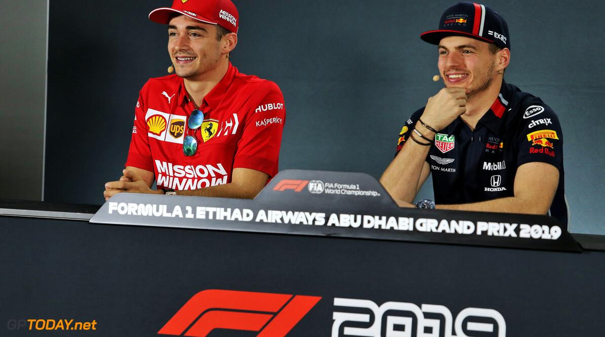 """Leclerc: """"Toekomstige titelgevechten gaan niet alleen tussen Verstappen en mij"""""""