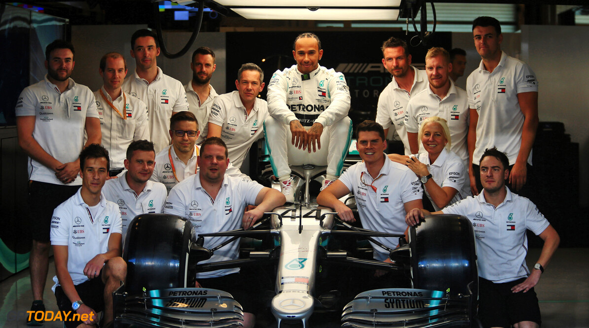 Hamilton, Mercedes nominated for 2020 Laureus Awards