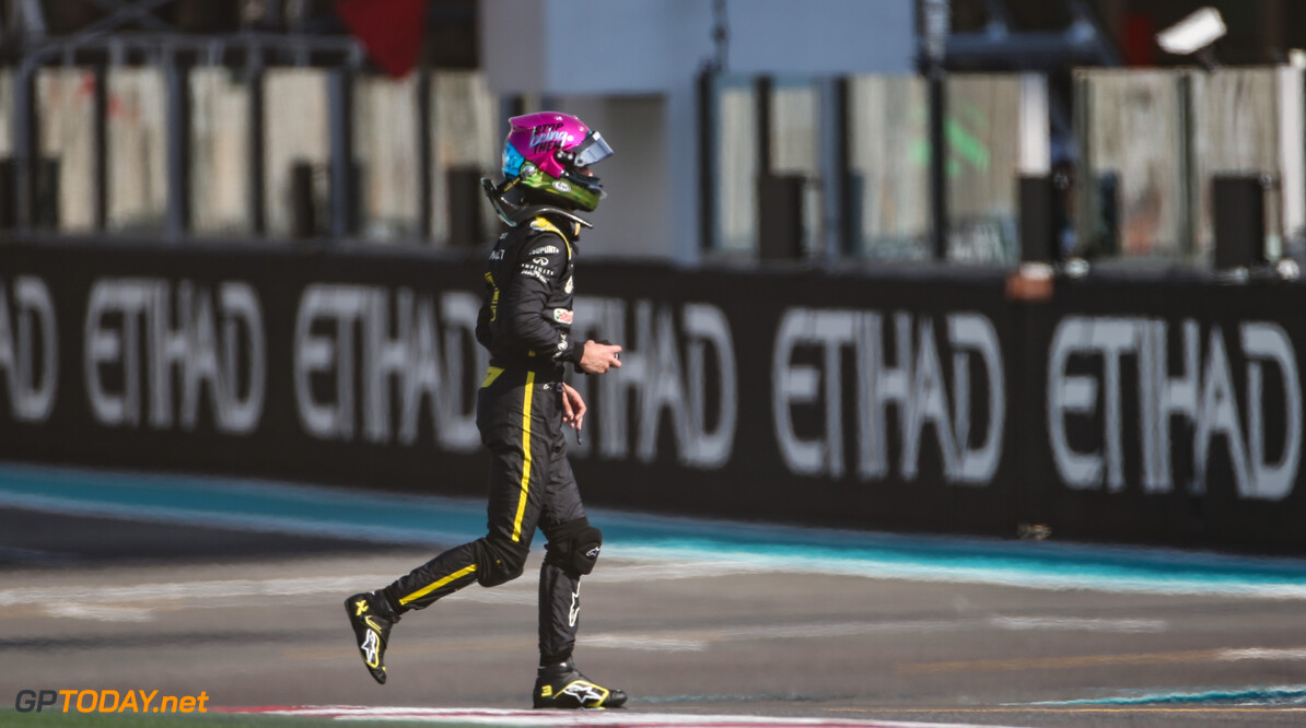 Formula One World Championship Daniel Ricciardo (AUS), Renault F1 Team  29.11.2019. Formula 1 World Championship, Rd 21, Abu Dhabi Grand Prix, Yas Marina Circuit, Abu Dhabi, Practice Day. - www.xpbimages.com, EMail: requests@xpbimages.com (C) Copyright: Charniaux / XPB Images Motor Racing - Formula One World Championship - Abu Dhabi Grand Prix - Practice Day - Abu Dhabi, UAE XPB Images Abu Dhabi Abu Dhabi  Formel1 Formel F1 Formula 1 Formula1 GP Grand Prix one November Abu Dhabi Yas Marina Circuit Yas Marina UAE United Arab Emirates Friday 29 11 2019 Portrait