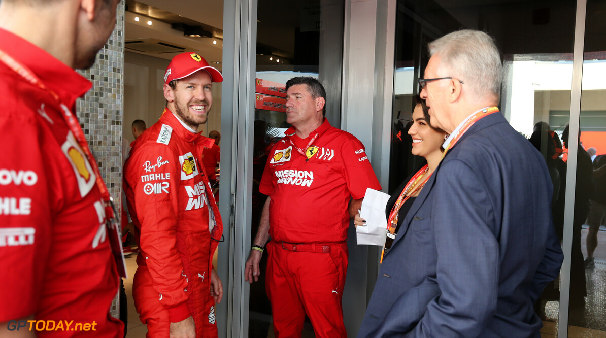 Vettel has 2020 seat fit at Maranello