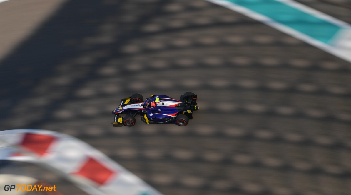 FIA Formula 2 YAS MARINA CIRCUIT, UNITED ARAB EMIRATES - NOVEMBER 29: Christian Lundgaard (DNK, TRIDENT) during the Abu Dhabi at Yas Marina Circuit on November 29, 2019 in Yas Marina Circuit, United Arab Emirates. (Photo by Jerry Andre) FIA Formula 2 Jerry Andre  United Arab Emirates  FIA Formula 2