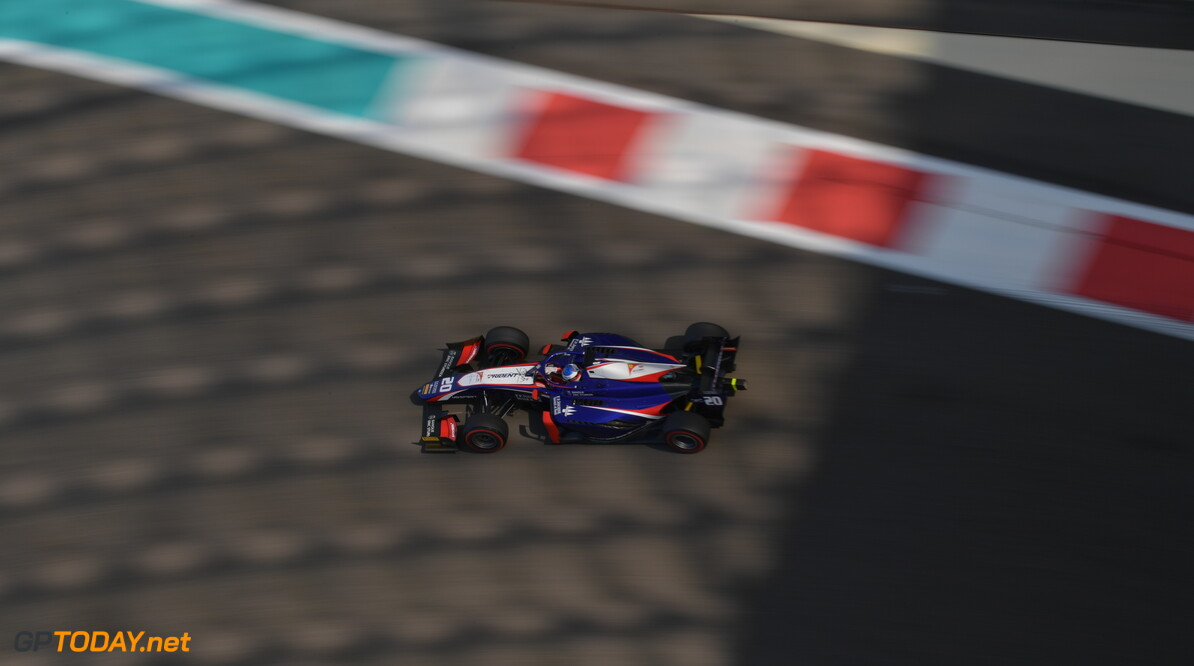 FIA Formula 2 YAS MARINA CIRCUIT, UNITED ARAB EMIRATES - NOVEMBER 29: Giuliano Alesi (FRA, TRIDENT) during the Abu Dhabi at Yas Marina Circuit on November 29, 2019 in Yas Marina Circuit, United Arab Emirates. (Photo by Jerry Andre) FIA Formula 2 Jerry Andre  United Arab Emirates  FIA Formula 2