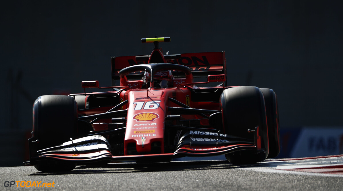 2019 Abu Dhabi GP YAS MARINA CIRCUIT, UNITED ARAB EMIRATES - NOVEMBER 29: Charles Leclerc, Ferrari SF90 during the Abu Dhabi GP at Yas Marina Circuit on November 29, 2019 in Yas Marina Circuit, United Arab Emirates. (Photo by Sam Bloxham / LAT Images) 2019 Abu Dhabi GP Sam Bloxham  United Arab Emirates  action ts-live