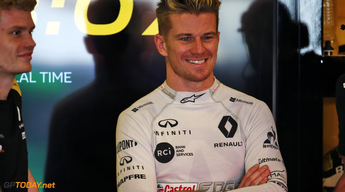 Hulkenberg not bitter over no F1 podium result