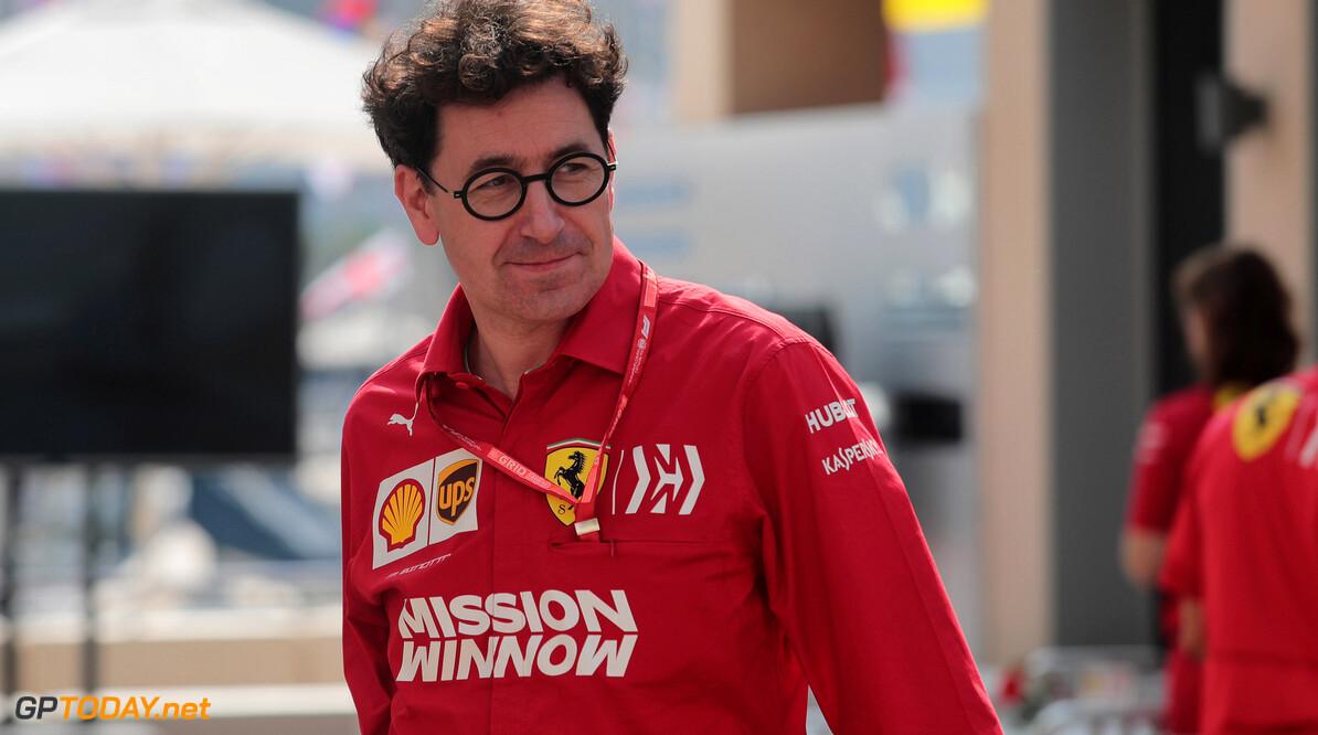 """Binotto geeft toe: """"Mercedes had beste auto, wij hadden geen kans op de titel"""""""