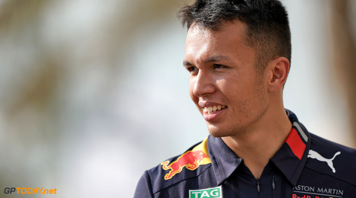 Albon's popularity rise in Thailand 'huge'