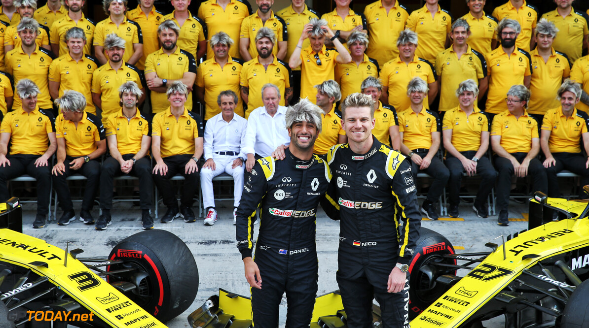 <b>Video: </b>Ricciardo en Hülkenberg maken elkaar voor laatste keer belachelijk