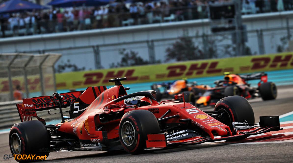 "Sebastian Vettel ontevreden: ""Ik weet dat ik beter moet presteren in 2020"""