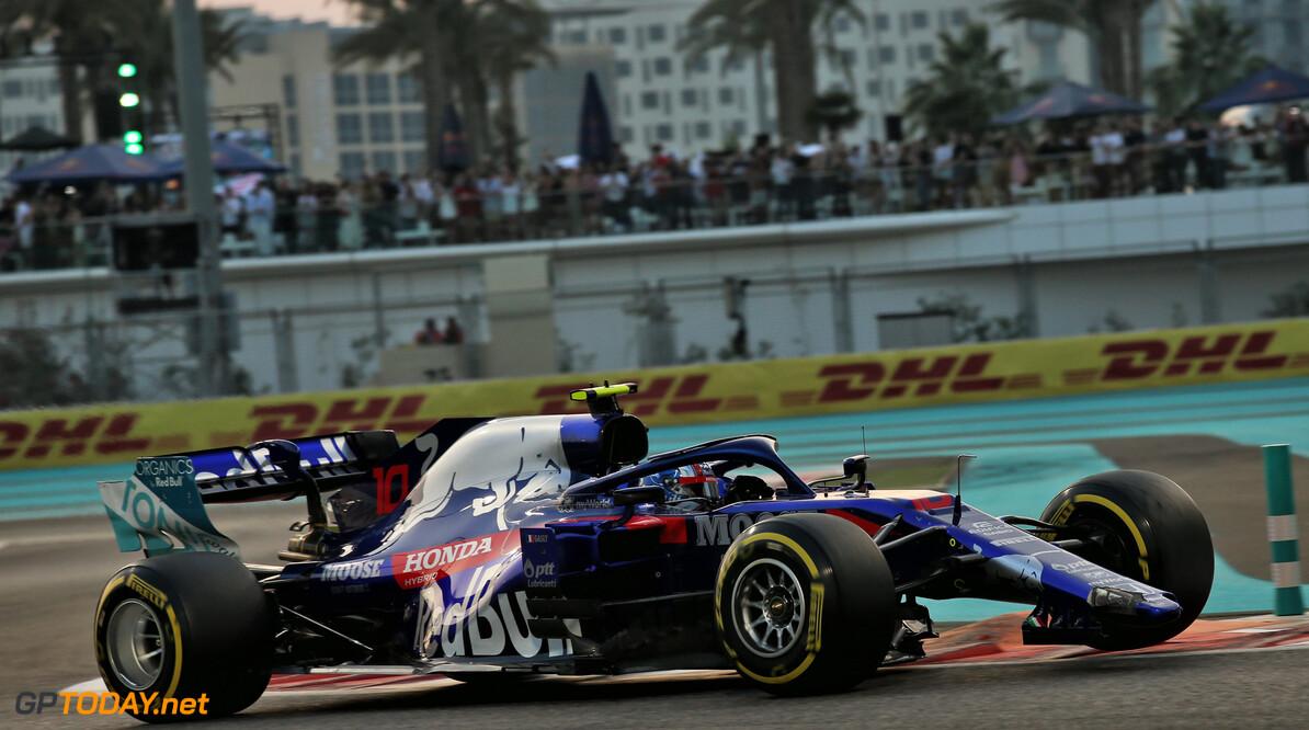 """Gasly boos op Stroll: """"Hij heeft voor mij alles verpest in Abu Dhabi"""""""